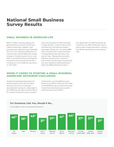 sample small business survey in pdf
