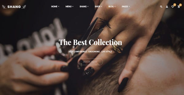 Shang - Retina Ready WordPress Theme