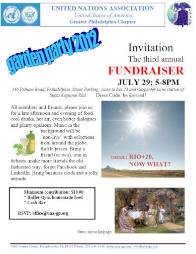 simple fundraiser invitation template