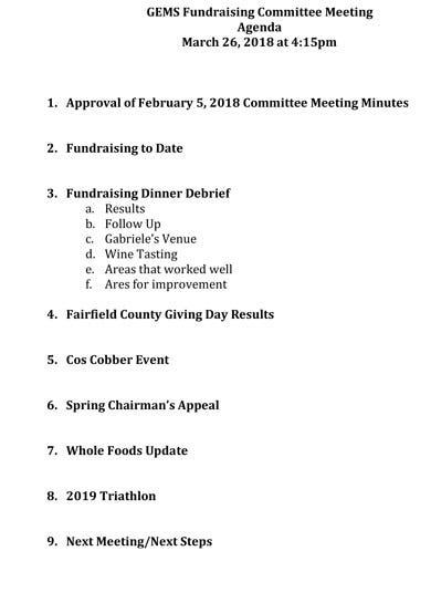 10  fundraising meeting agenda templates