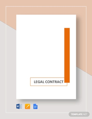 simple legal contract template