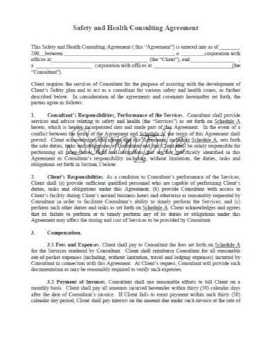 simple medical consulting agreement template