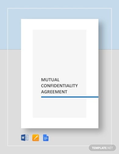 simple mutual confidentiality agreement