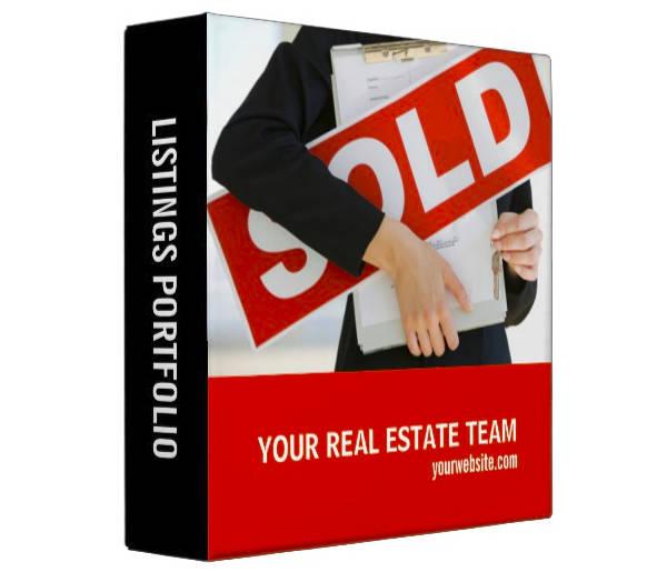 simple real estate listing portfolio