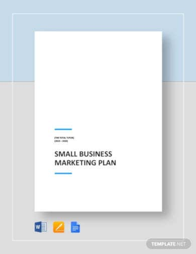small business marketing plan template2