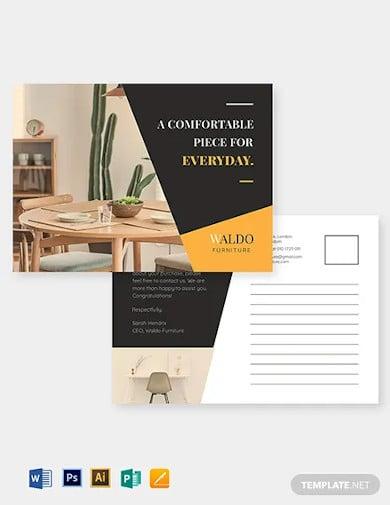small business marketing postcard template1