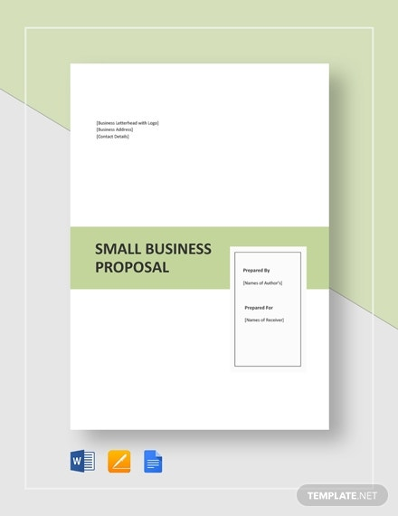small business proposal template