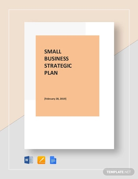 small business strategic plan template1