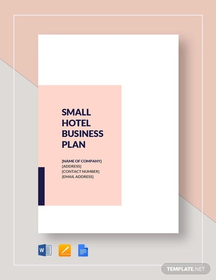 small hotel business plan template1