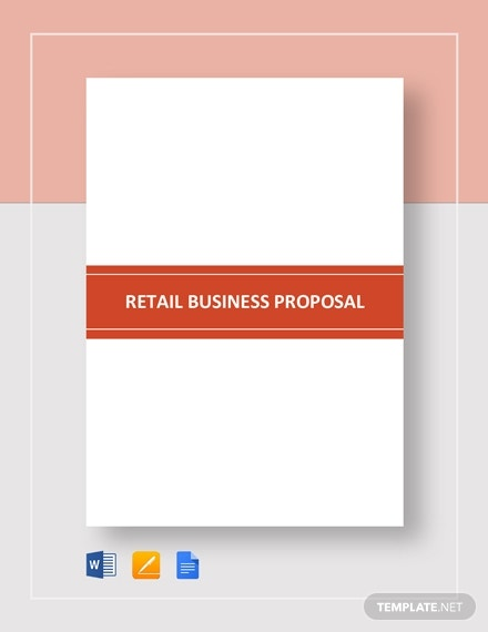 small retail business proposal template