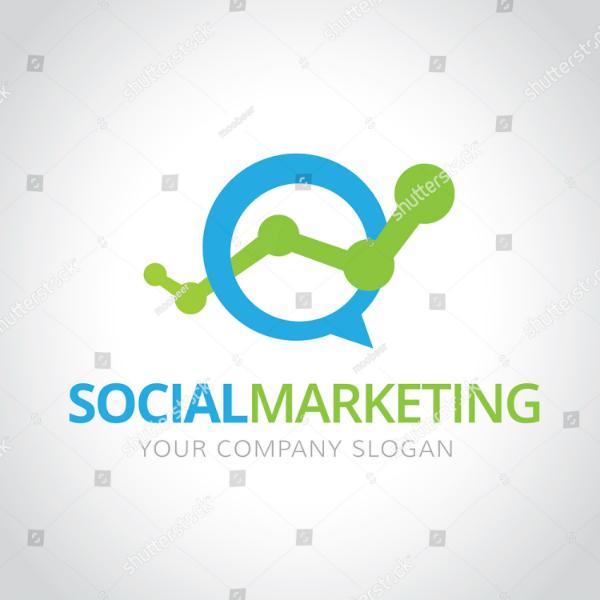 Social Media Marketing Logo Sample