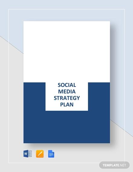 social media strategy plan1