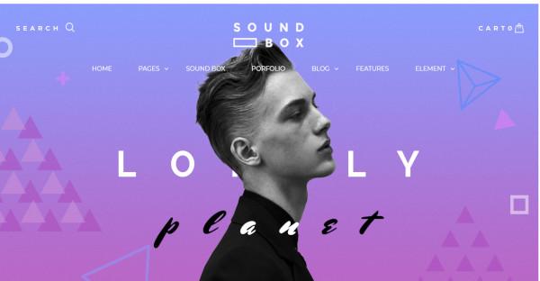 sound box easy responsive wordpress music theme