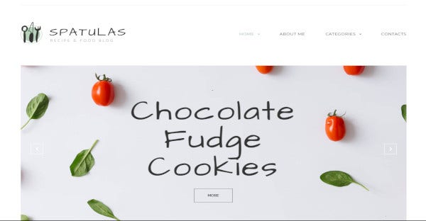 Spatulas – Google reCaptcha Compatible WordPress Theme