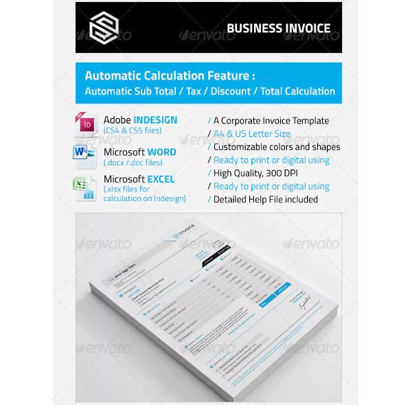 standard business invoice template1