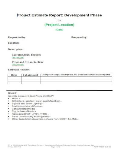 standard construction estimating spreadsheets