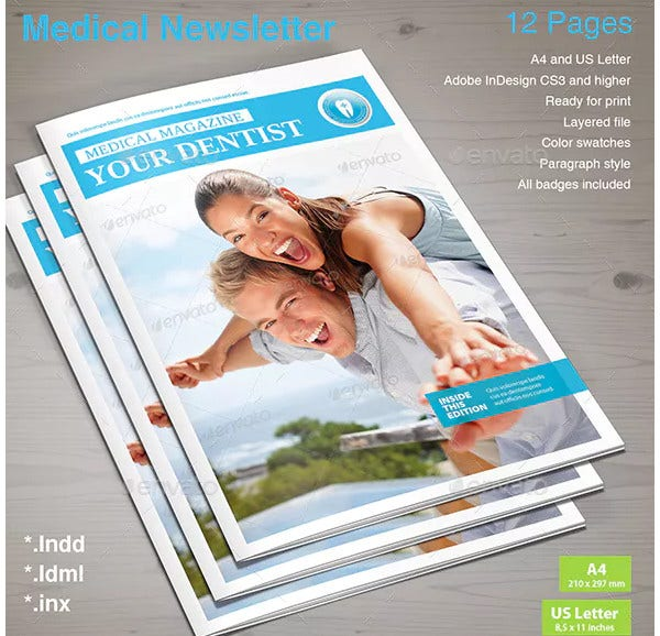 standard medical newsletter template1