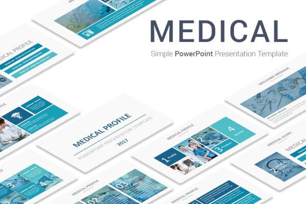 standard medical powerpoint template