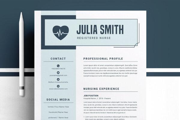 Best Medical Resume Template For Nurse