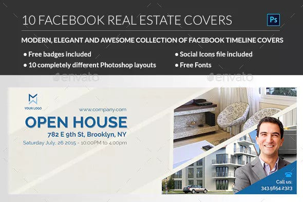 standard real estate facebook cover