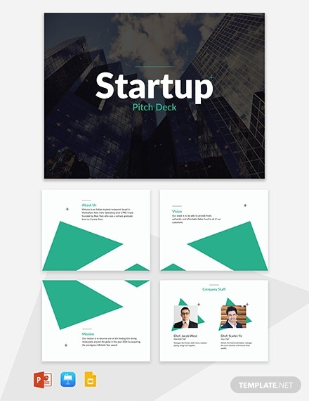 startup business marketing presentation format