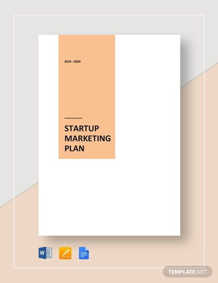 startup marketing plan template1