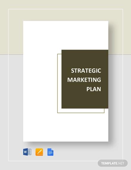 strategic marketing plan template1