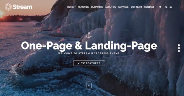 Stream - Visual Elements Plugin WordPress Theme