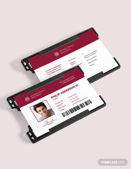 student id card download
