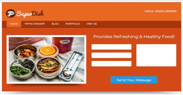 superdish – customizable wordpress theme