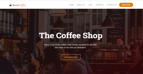 sweet coffee – css compatible wordpress theme