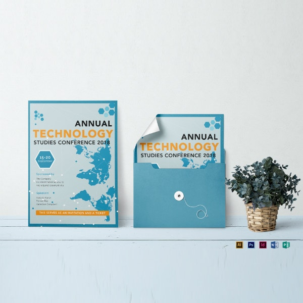 technology conference seminar invitation sample