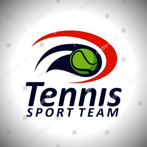tennis team sports logo example
