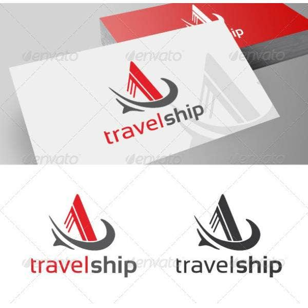 travel ship company logo sample 1