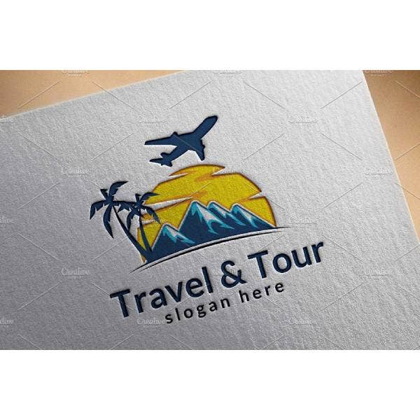 travel and tours logo template 1