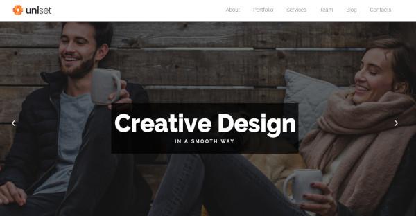 UniSet - One click Import WordPress Theme