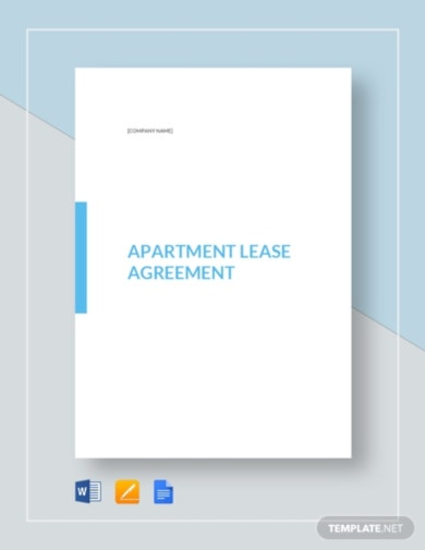 vertical apartment lease agreement template