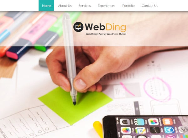 web-ding-customizable-features-wordpress-theme
