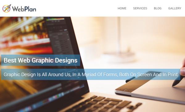 web plan custom wordpress theme