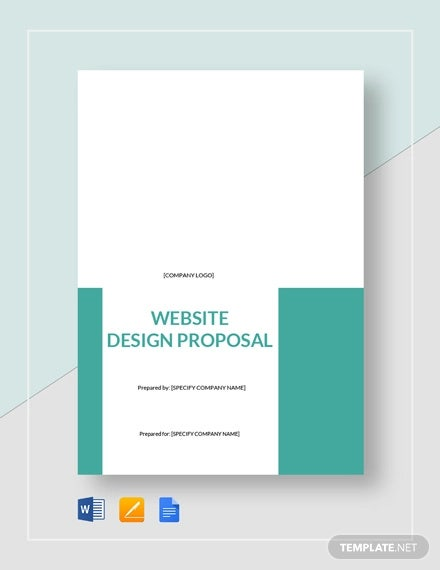 10  website design proposal templates