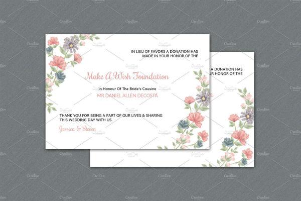 wedding-favor-donation-card-template