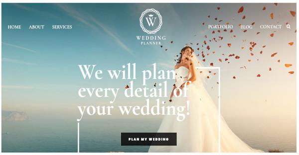 wedding planner – seo optimized wordpress theme