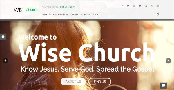 wise church bbpress compatible wordpress theme