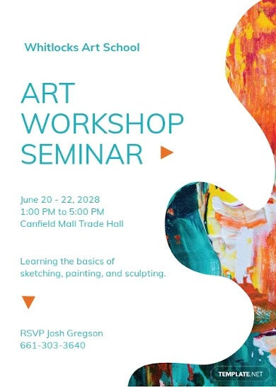 workshop seminar invitation template