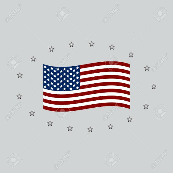 honoring-all-who-served-banner-for-memorial-day-american-flag-on-gray