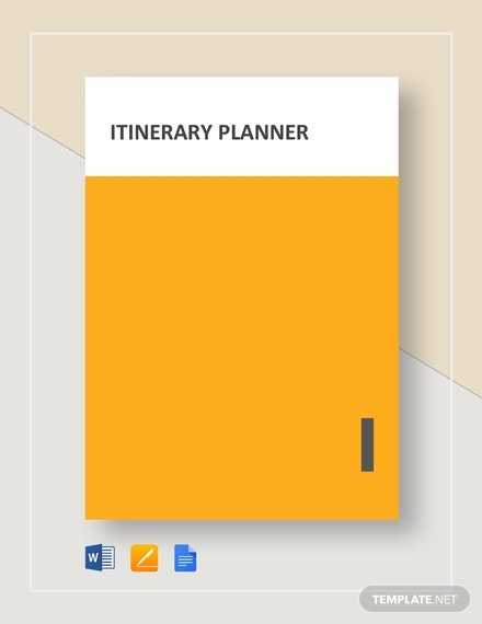 itinerary planner