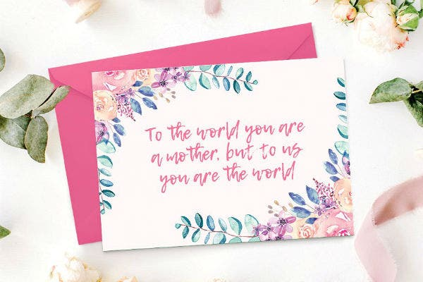 mothers day card template cm 1