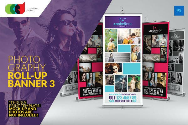 photography roll up banner 3 preview