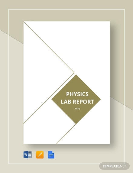 physics lab report