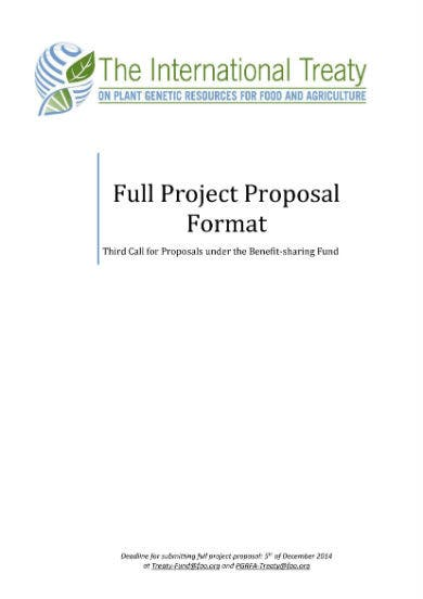 project proposal format 01
